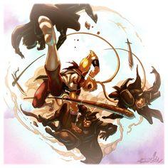 Sun Wukong Fighting