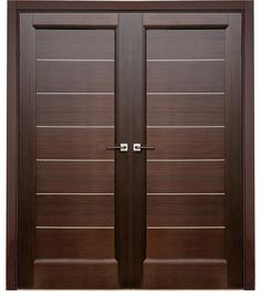 Are you looking for best wooden doors for your home that suits perfectly? Then come and see our new content Wooden Main Door Design Ideas. Wooden Double Doors, Modern Wooden Doors, Double Front Doors, Front Entry, Wooden Main Door Design, Double Door Design, Room Door Design, Architecture Bauhaus, Le Corbusier Architecture