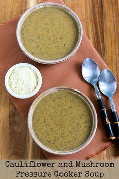 ... Soups on Pinterest | Mushroom Barley Soup, Potato Soup and Pressure
