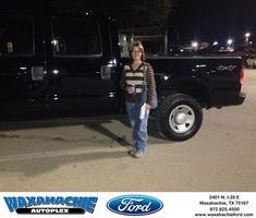 Happy Anniversary to Roger on your #Ford #Super Duty F-250 SRW from Abry Hogan at Waxahachie Ford!  https://deliverymaxx.com/DealerReviews.aspx?DealerCode=E749  #Anniversary #WaxahachieFord