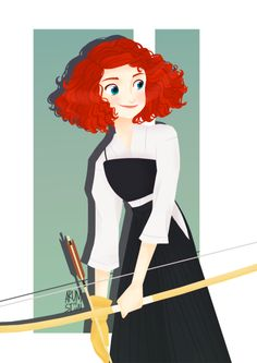 """arumst: """"So,these are the steps that I do to make lineless art as requested months ago. Princess Merida, Disney Princess Art, Disney Fan Art, My Princess, Disney And Dreamworks, Disney Pixar, Brave Movie, Merida And Hiccup, Disney Specials"""