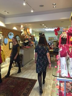 In store event at Mistral Bath. AW15 fashion show, raising money for Cancer Research.