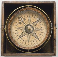 "sailorgil:    "" Antique Mariner's Compass """