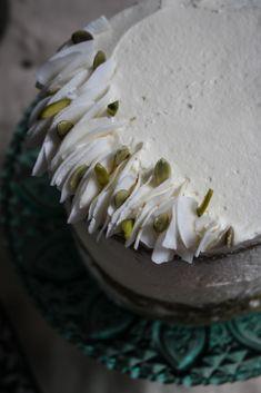 Matcha coconut tres leches cake