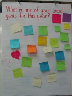 Confessions of a Teaching Junkie: The BEST First Day Ever! Gtky ice breaker middle school survey post it note questions