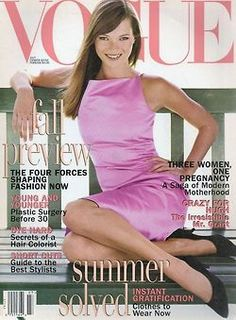 Pink fashion 1990s Pretty in pink Kate Moss -  Vogue 1995 by Steven Meisel