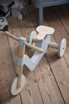 , Sebra wooden indoor scooter - ride-on toddler toy - BONORDIC - Overla . , Sebra indoor scooter made of wood - ride-on toddler toy - BONORDIC - Overlaat - Wooden Scooter, Wood Bike, Wooden Ride On Toys, Toddler Toys, Baby Toys, Kids Toys, Kids Ride On Toys, Wooden Toys For Toddlers, Wood Projects
