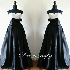 Feesewcrafty satin maxi skirt with pockets and sash