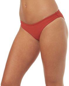 21bb040861872 RUSTIC RED WOMENS SWIMWEAR THE HIDDEN WAY BIKINI BOTTOMS - H8171335RSTRD  Surf Outfit, Bikini Bottoms