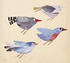 Birds at the 'linen moth' blog: (Frick, 2012)