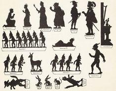 silhouettes puppet theatre - Google zoeken