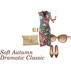 """""""Soft Autumn Dramatic Classic Daytime"""" by keylarion on Polyvore"""