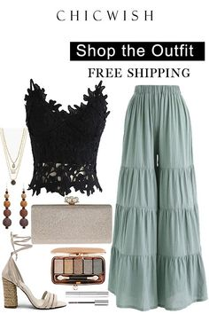 rabatt inspiration Shop Chicwish and get up to - Crop Top Outfits, Date Outfits, Skirt Outfits, Chic Outfits, Summer Outfits, Modest Fashion, Hijab Fashion, Fashion Outfits, Womens Fashion