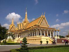 Throne Hall at Royal Palace, Phnom Penh