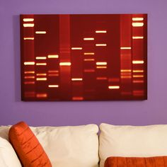 This service will make a canvas print out of your DNA. You submit a sample, wait, and BOOM, wall decor straight from your genes. Legit.