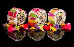 Colorfull Sushi Rolls, Ritz Carlton Dubai