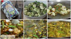 Paella de verduras. Receta