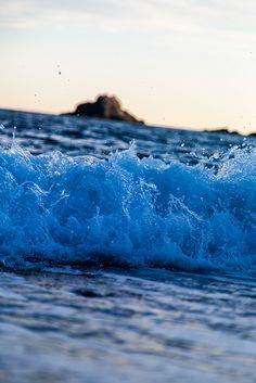 Espuma azul