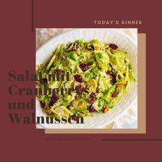 gesundes Abendessen Sprouts, Cranberrys, Cabbage, Vegetables, Food, Veggie Food, Vegetarian Recipes, Healthy Menu, Small Pumpkins