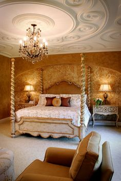 Norman Residence - mediterranean - bedroom - cleveland - Palmieri Builders