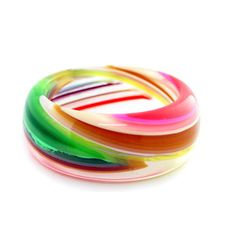 Colors And Effects Bangle, $58, now featured on Fab.