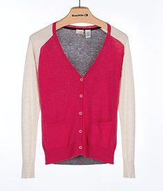 Daytrip Color Block Cardigan Sweater