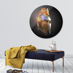 Discover «Wariors Helm», Limited Edition Disk Print by Francis Jones - From $65 - Curioos