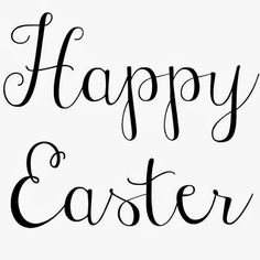 Happy Easter to all my followers!!