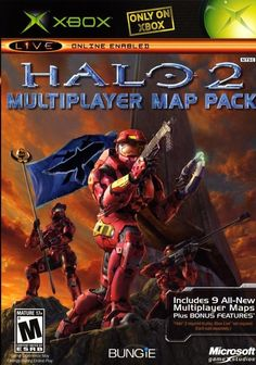 Original Xbox Halo 1 2 Multiplayer Map Pack Video Game Bundle Lot Complete #halo #retro #xbox #gamers