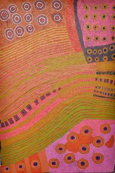 Tjungu Palya Ginger Wikilyiri, Ilpin, Acrylic on linen 1000 x Aboriginal Painting, Aboriginal Artists, Dot Painting, Indigenous Australian Art, Indigenous Art, Australian Aboriginals, Klimt, Arte Tribal, Aboriginal Culture