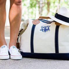 Monogrammed Sunshine Satchel   Overnight Bag   Travel   Marley Lilly