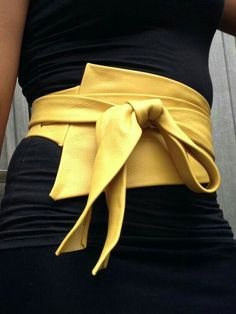 XXL Mosterd yellow asymetric genuine leather obi belt, corset belt, waist cincher, wrap on belt, high waisted belt XXL Mosterd yellow asymetric genuine leather obi belt by SmpliAnwi Fashion Belts, Diy Fashion, Ideias Fashion, Fashion Accessories, Fashion Outfits, Womens Fashion, Fashion Trends, Women Accessories, Sewing Accessories