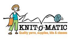 Knit-O-Matic Knitting & Crochet Supplies ● 1378 Bathurst St, Toronto Knitting Stitches, Knitting Patterns Free, Knit Patterns, Free Knitting, Free Pattern, Knitting For Kids, Knitting Projects, Crochet Supplies, Yarn Shop