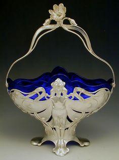 WMF Art Nouveau Centrepiece   JV