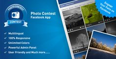 Photo Contest Facebook App script - 15 Most Popular PHP Code Scripts that You Should Have