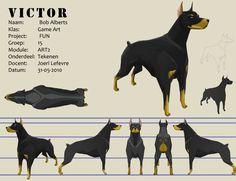 Victor the Mean Guarddog by ~Bopshot on deviantART