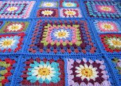 Daisy Granny Blanket