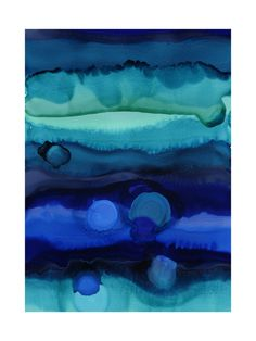 Water Levels Art Print - Limited Edition by Leslie M Ward | Minted