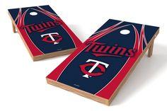 Minnesota Twins Cornhole Board Set - The Edge