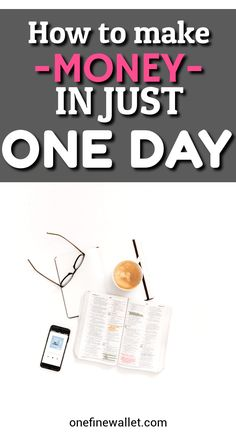 How to Make Quick Money in ONE day update) Are you looking for ways to make quick money in ONE day? Here are some easy money making ideas to help you make extra cash today. Here are some side hustles to try! Make Quick Money, Make Money From Home, Make Money Online, Quick Cash, Cash Today, Go It Alone, Making Extra Cash, Be Your Own Boss, Work From Home Jobs