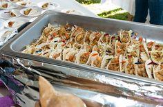 Fish Tacos - Taste of Kent Narrows Fish Tacos, Pasta Salad, Meat, Chicken, Ethnic Recipes, Food, Beef, Meal, Essen