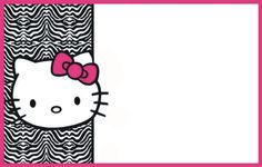 ✅ Use our free printable templates to make your unique invitations. No designer needed Hello Kitty Invitation Card, Hello Kitty Birthday Invitations, Birthday Invitation Card Template, Star Wars Invitations, Free Printable Invitations Templates, Birthday Cards, Invitations Online, Printables, Invitation Ideas