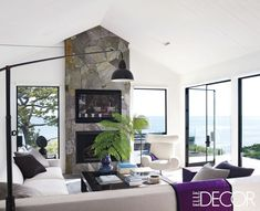 Courteney Cox at Home in Her Malibu Beach House