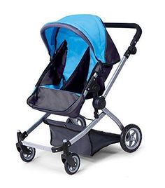 Babyboo Deluxe Twin Doll Pram/Stroller with Free Carriage (Multi ...