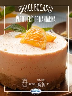 Pastel de Mandarina
