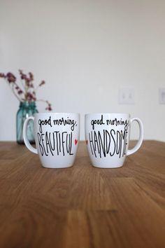Cute couple mugs. #adoredecor #hisandhers