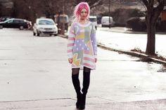 KAYLA HADLINGTON - UK Fashion Blog: PASTEL VINTAGE