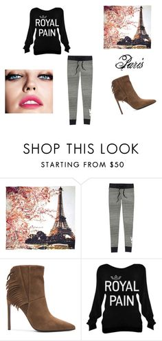 """""""Paris Comfort"""" by bambidarling3 on Polyvore featuring Fay et Fille, Victoria's Secret, Yves Saint Laurent and Maybelline"""