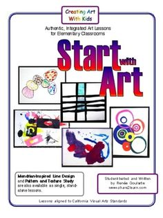 Start with Art ~ perfect for back to school. Introduces students to the elements of design with five exploratory activities.