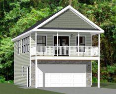 20x32 House 1 Bedroom 1 Bath 785 sq ft PDF Floor Plan | Etsy Two Story Garage, Plan Garage, Garage House Plans, Barn House Plans, Shed Plans, House Floor Plans, Barn Plans, Detached Garage Plans, Garage Ideas